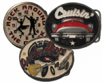 Rock n Roll Belt Buckles